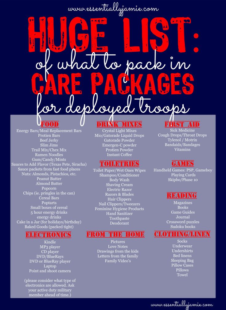 Remington Military Deployment Care Package