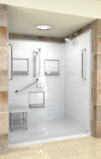 Best Bath Systems Walk In Shower Surrounds Set The