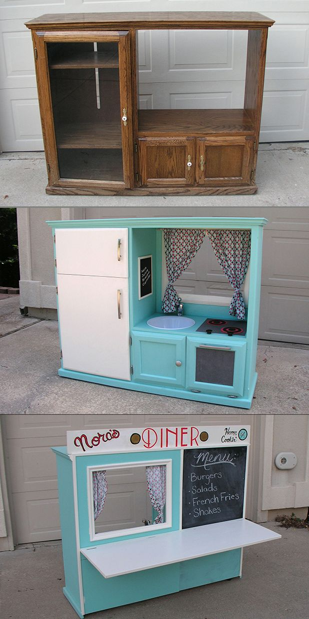 Tv Cabinet Made Play Kitchen