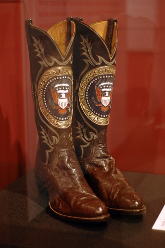 Ronald Reagan S Boots By Tony Lama Uhmm There Ugly But