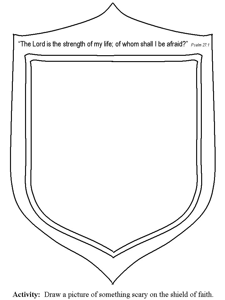 Be Strong Lord Color Sheets