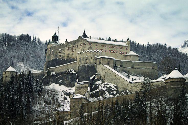 Hohenwerfen Where Dare Schloss Castle Eagles