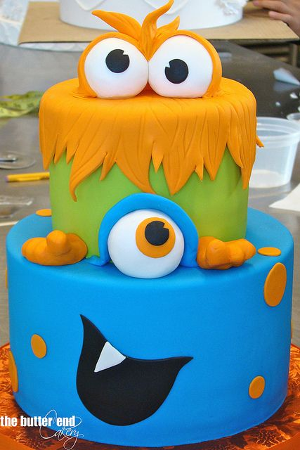 Monster Cake By The Butter End Cakery Santa Monica
