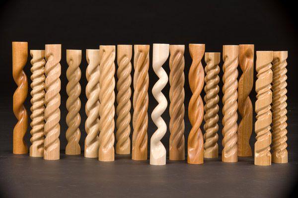 Turned Wood Columns