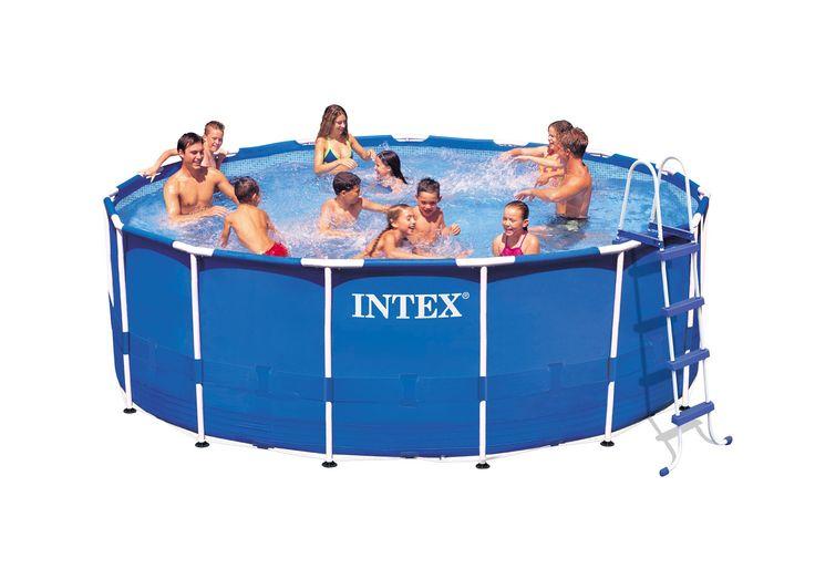 15 Inch Metal Set Frame 48 Intex Feet Pool