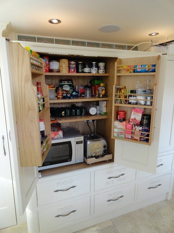 Small Built Kitchen Cupboards