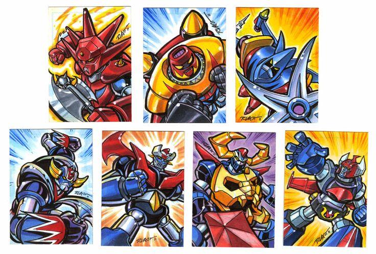 Cartoon Shogun Dvd Warriors