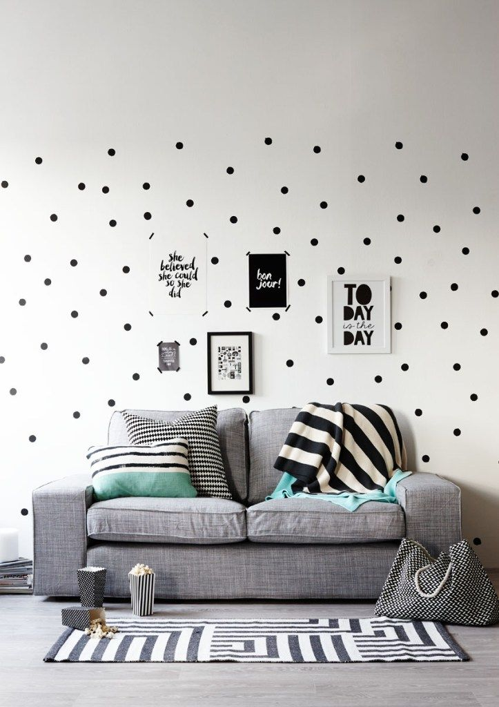 Grey And White Living Rooms