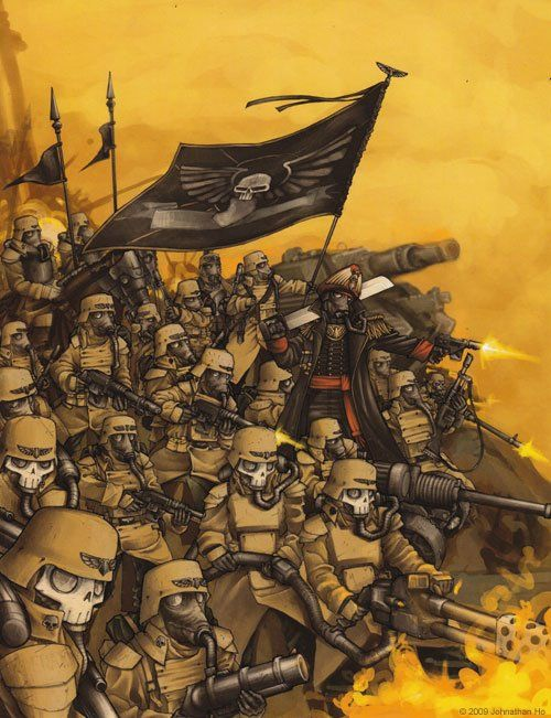 246 best images about Imperial Guard Regiment on Pinterest ...