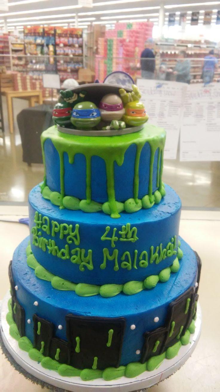 Turtle Birthday Cake Ideas