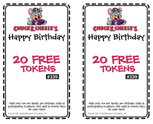 Printable Invitations Chuck E Cheese
