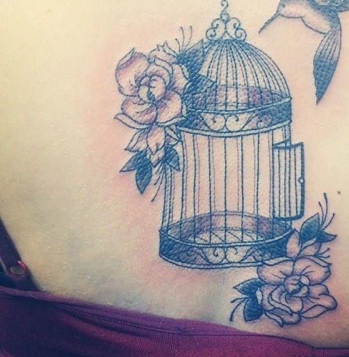 Open Bird Cage Tattoo Meaning Wwwpicturesbosscom