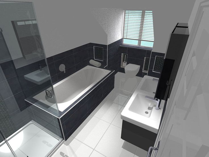 Small Full Bath Designs