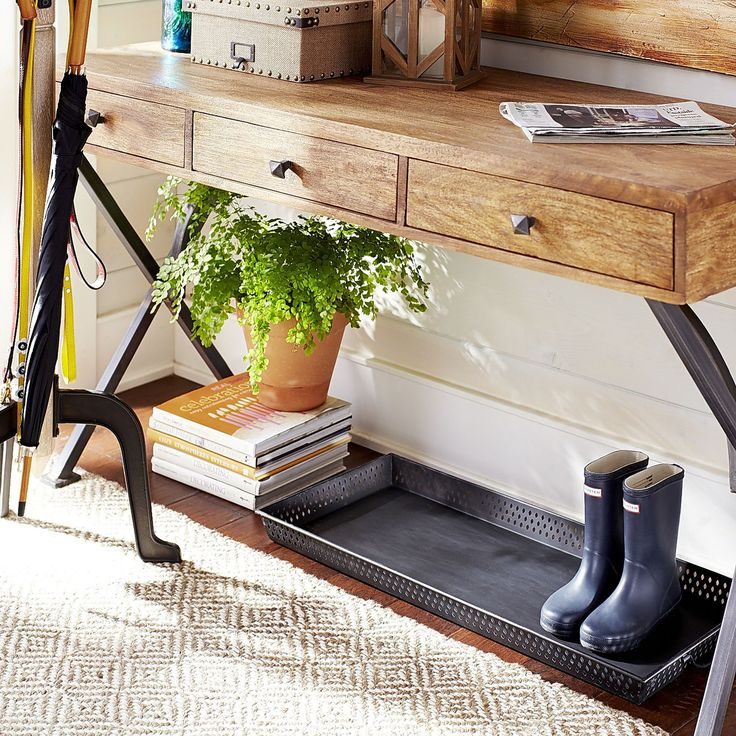 Punched Black Boot Tray Front Doors Boot Tray And Floors