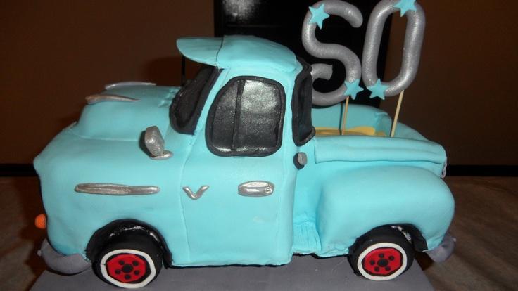 55 Birthday Chevy Happy
