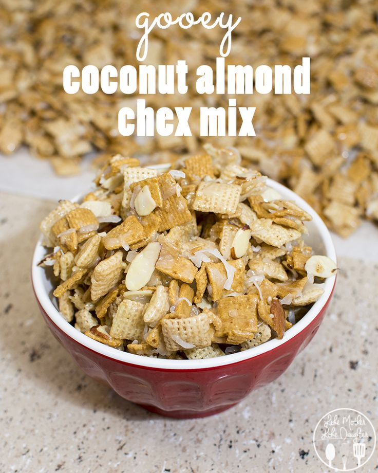 Coconut Almond Chex Mix Recipe