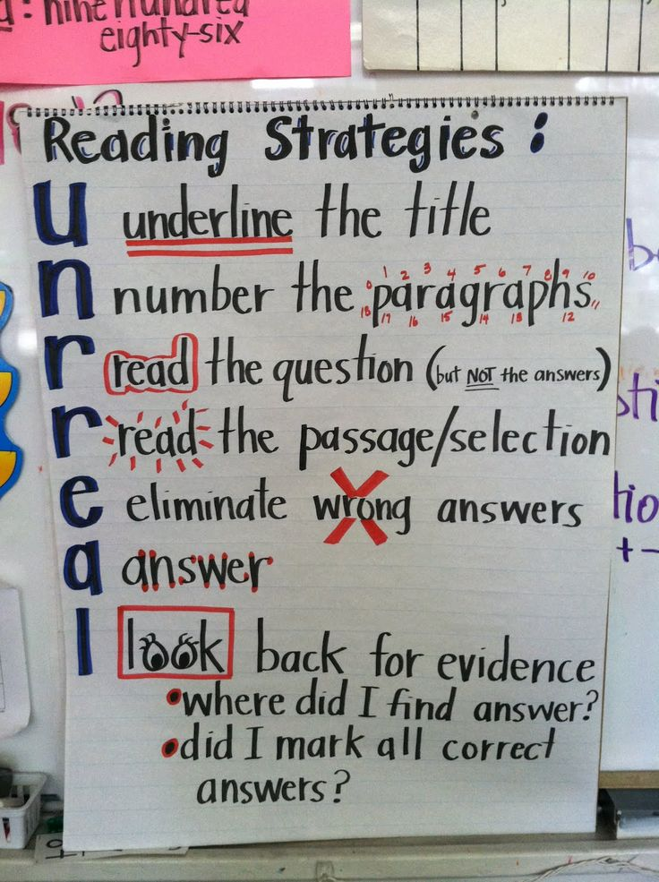 Unravel Reading Strategy