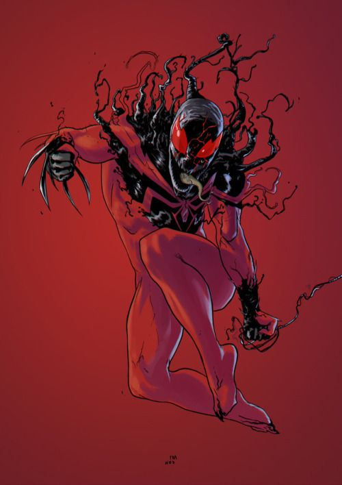 Symbiote Man Spider Jane Mary