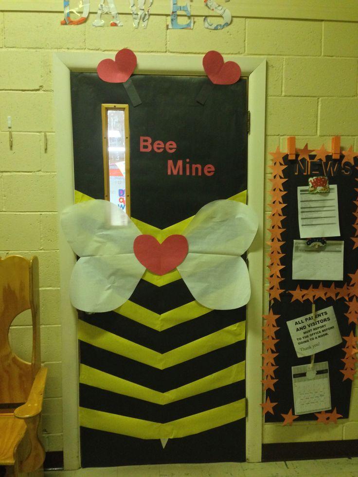 Valentines Classroom Door Classroom Doors Pinterest