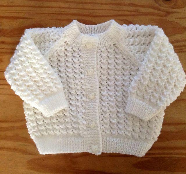 Crochet Baby Sweater Pattern Simple Cotton