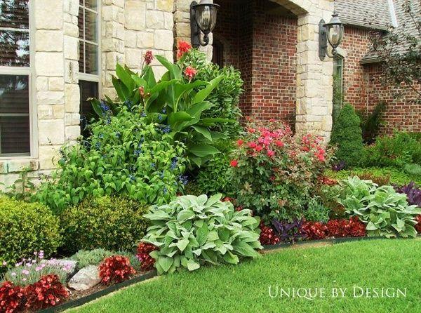 Flower Garden Design Front House