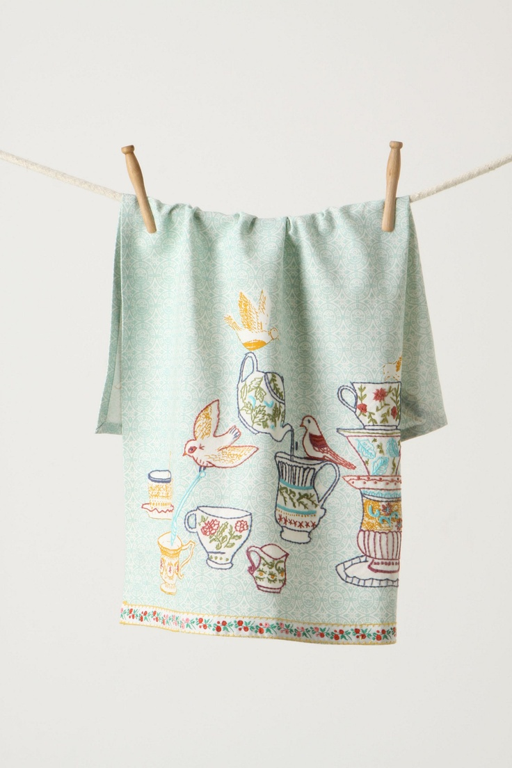 Tea Towels Vintage Look