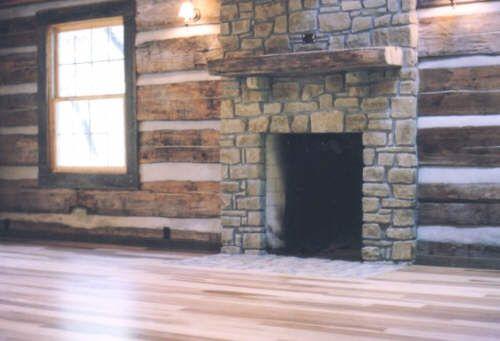 Beautiful Log Cabin Bathrooms