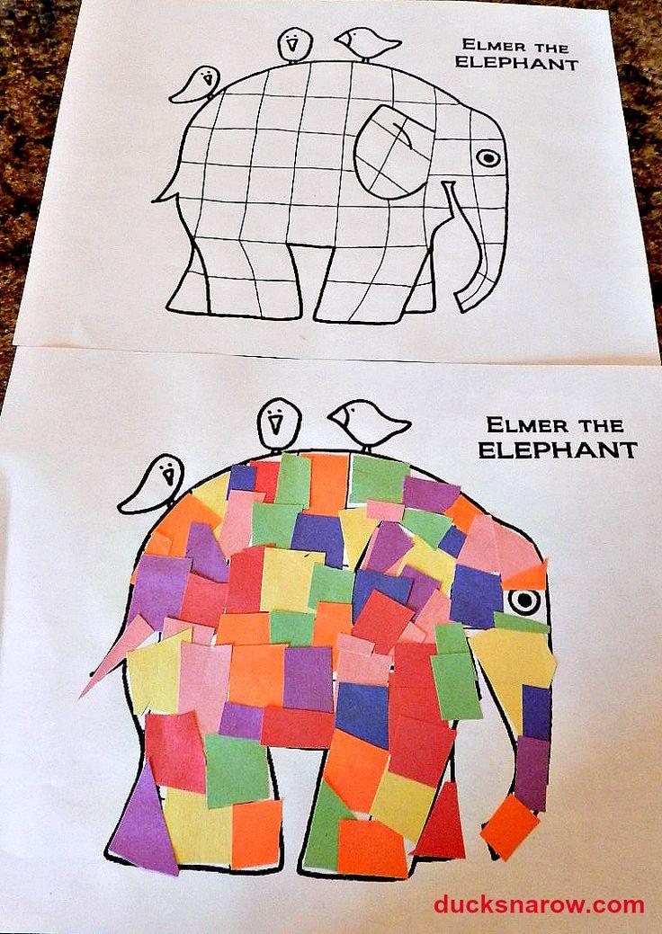 H Hippo Craft Preschool