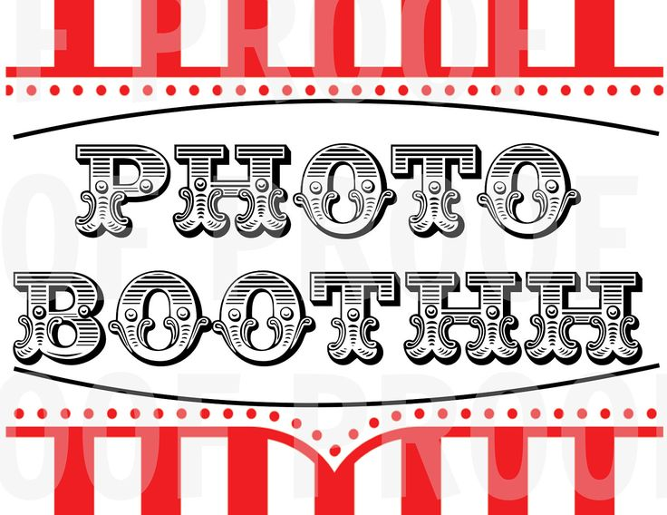 Picture Frame Booth Idea Carnival