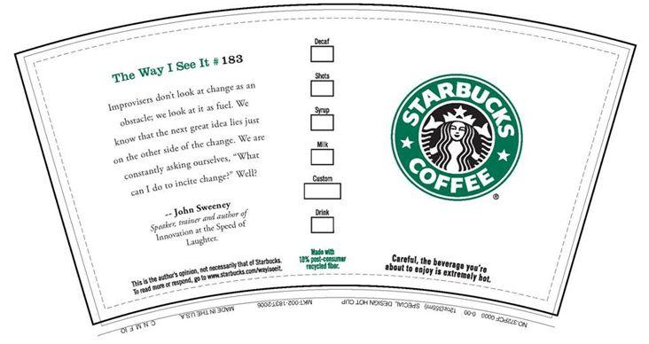 Blank Template Starbucks Logo