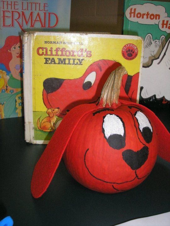 Dog Ears Clifford Red Big