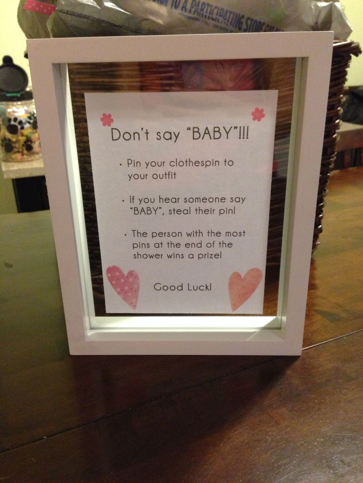 I Dont Want Baby Shower
