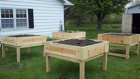 Raised Garden Plot Plans