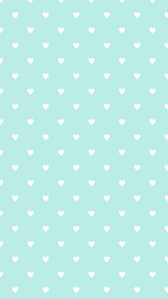 Blue Pattern Cute Lush Wallpaper