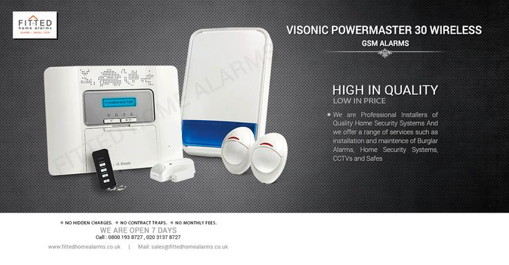 Wireless Burglar Alarm System Yale