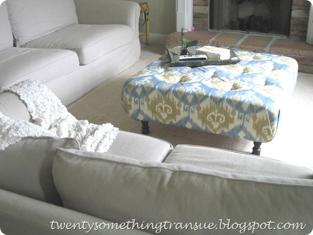Tufted Upholstered Coffee Table