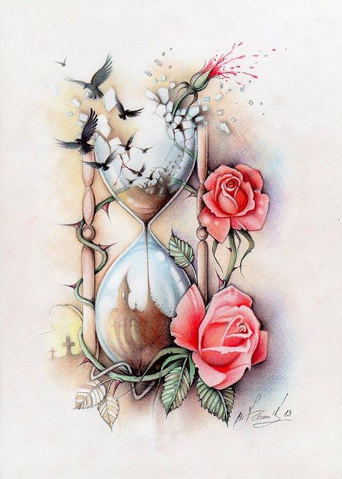 Paintings Rose Thorns