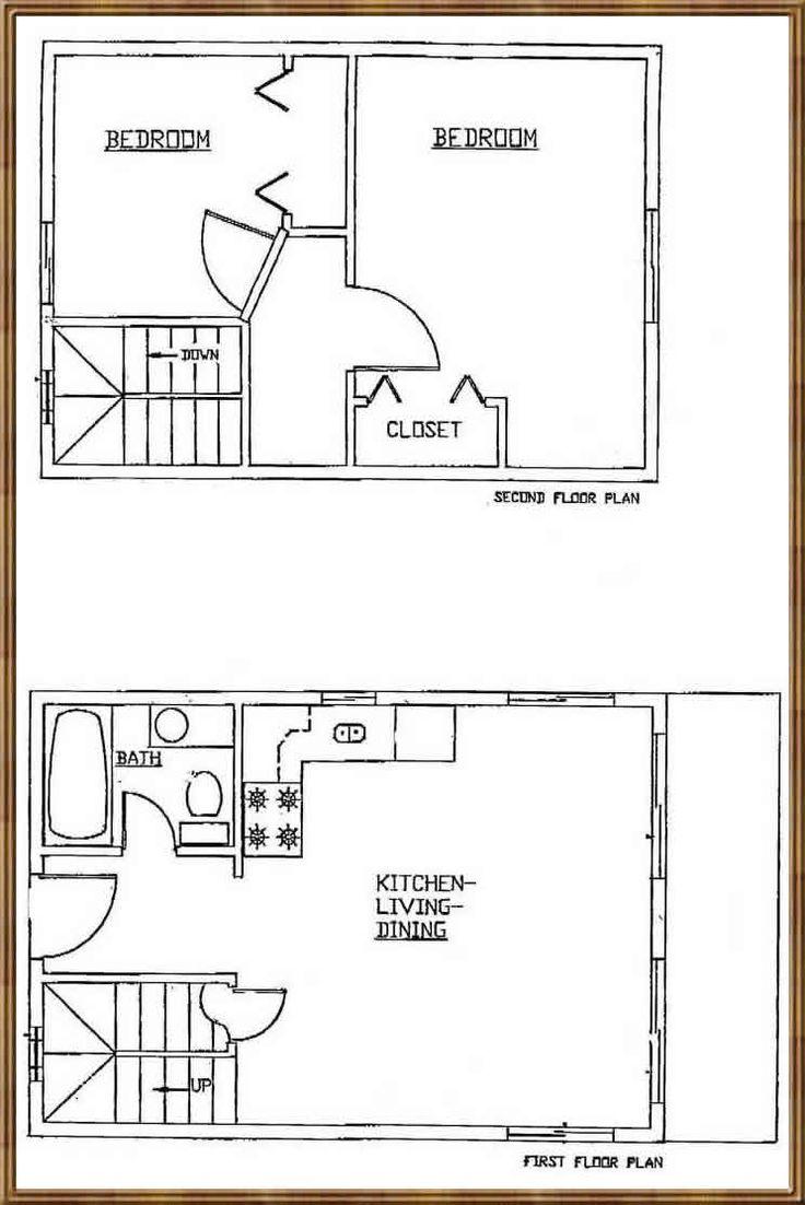16 X 24 Cabin Loft Floor Plans