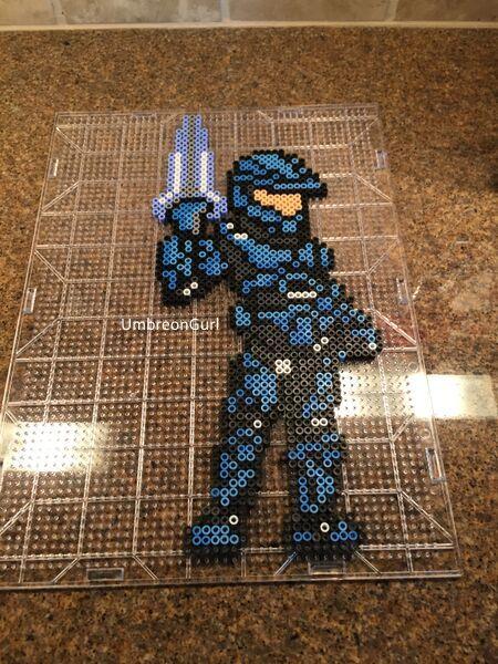 Art Harley Quinn Minecraft Pixel