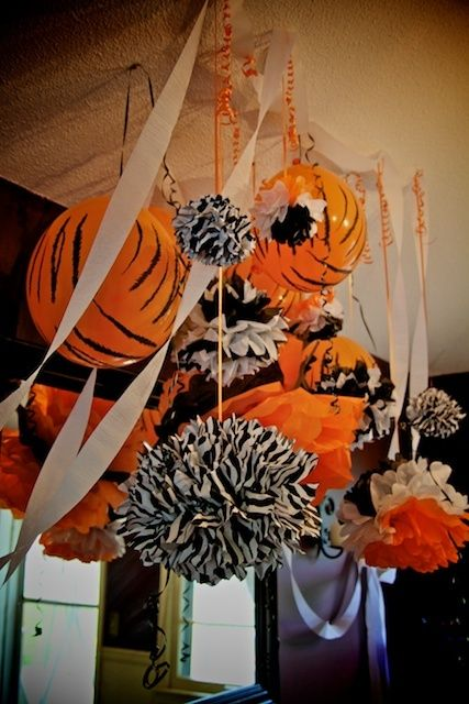 Baby Bengals Decorations Shower