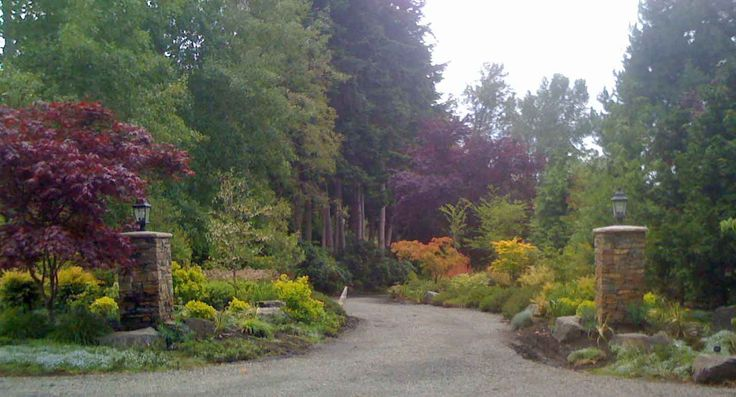 Driveway Entrance Landscaping Ideas Driveway Entry And