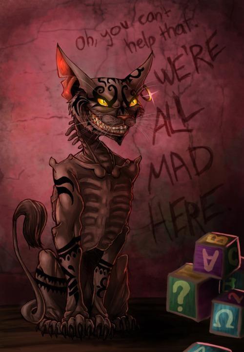 Demented Alice Wonderland