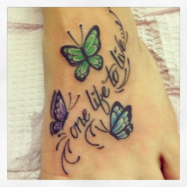 Dragonfly Tattoos Your Foot