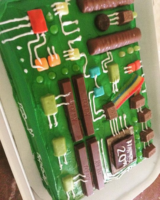 Birthday Cake For An Electronic Engineer Great Images