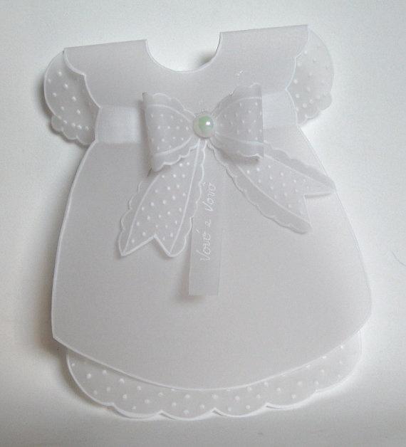 Baptism Invitations Dress