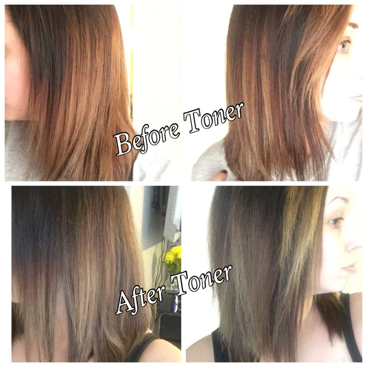 Wella T15 Toner And After