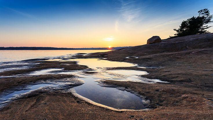 Superior Lake Topography