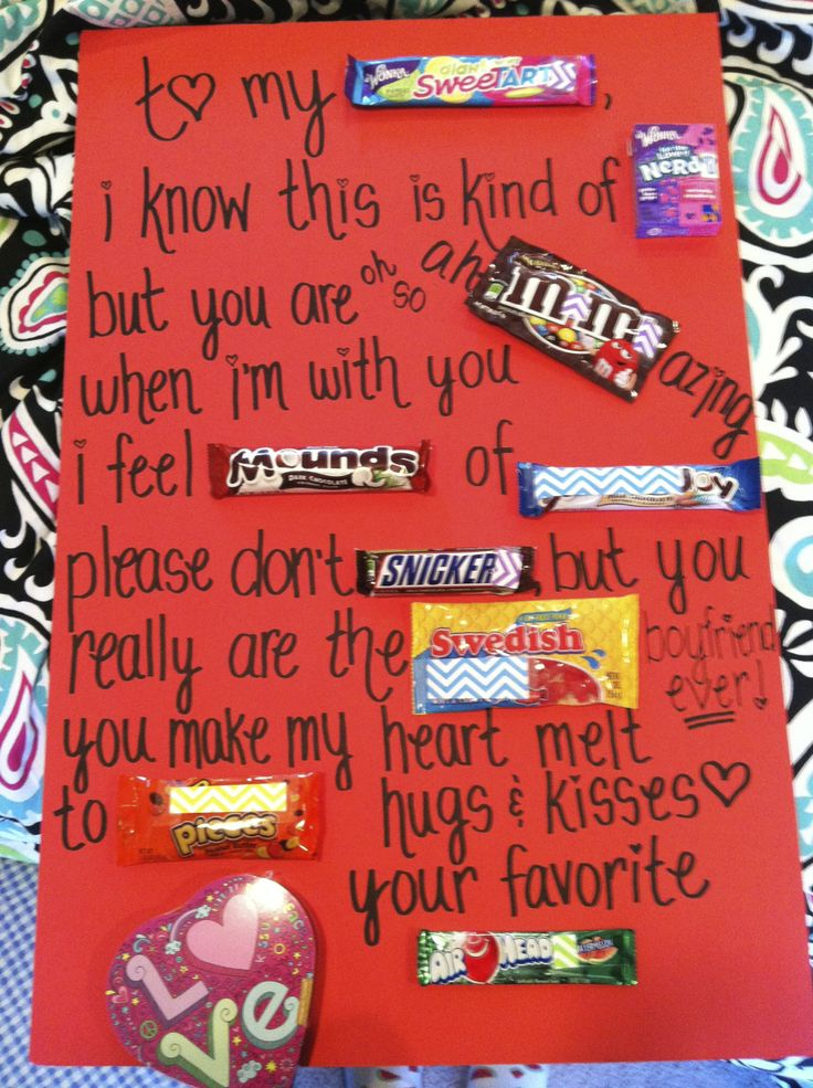 Sweetheart Candy Messages