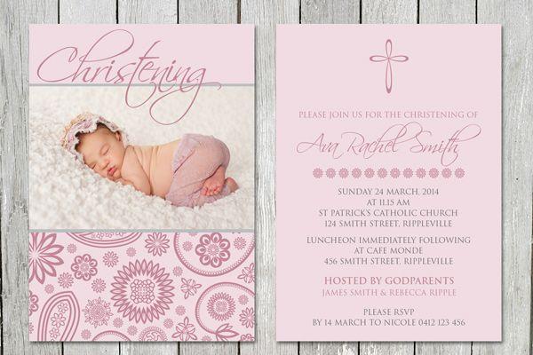 Beautiful Christening Cards
