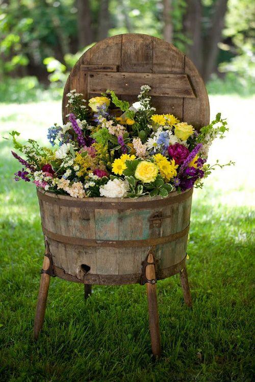 Pinterest Country Yard Decor